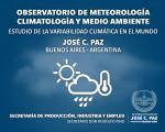 JOSÉ C. PAZ: CLIMA EXTENDIDO DESDE EL 8 AL 11 DE MARZO DE 2016