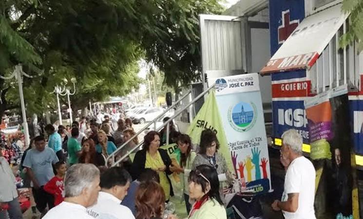 """OPERATIVO """"EL ESTADO PRESENTE EN TU BARRIO"""" EN JOSÉ C. PAZ"""