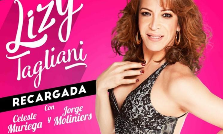 """EL TEATRO MUNICIPAL DE JOSÉ C. PAZ  PRESENTA A LIZY TAGLIANI EN """"RECARGADAS"""""""