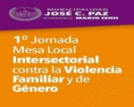 1RA. JORNADA MESA LOCAL INTERSECTORIAL DE JOSÉ C. PAZ