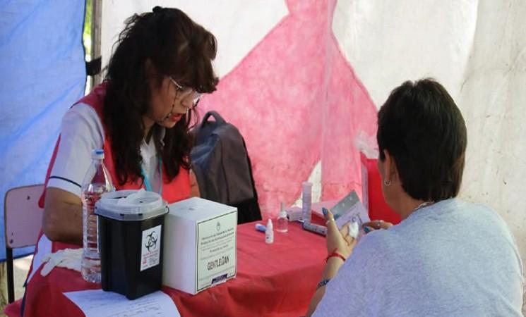 CAMPAÑA DE SALUD POR EL DÍA MUNDIAL DEL SIDA EN JOSÉ C. PAZ