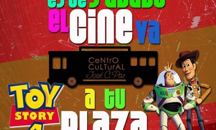 JOSÉ C. PAZ: EL CINE VA A TU PLAZA