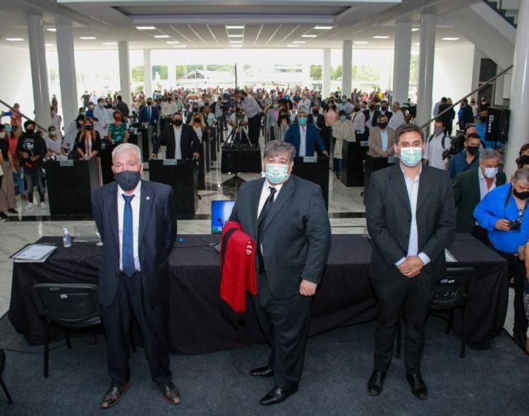 El Intendente Mario Ishii inauguró las sesiones del Concejo Deliberante con un balance del año de pandemia.